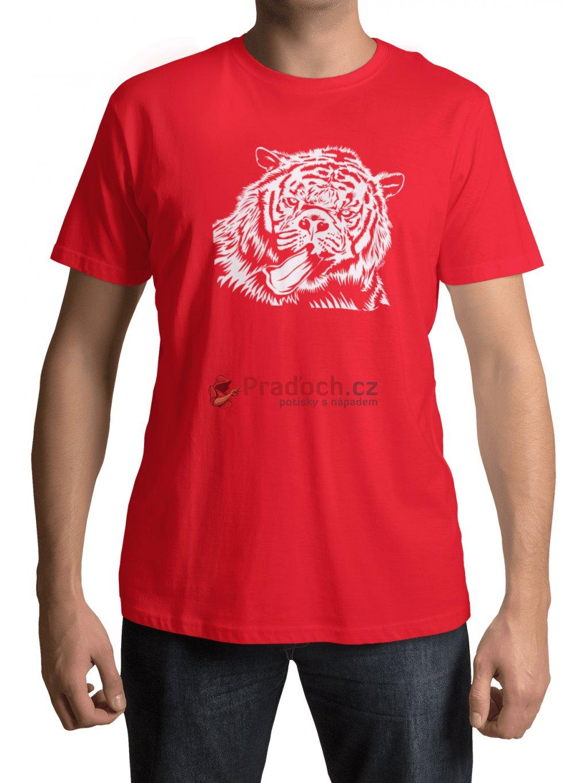 tygrolev cervene triko min