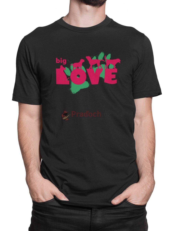 big love cerne triko min