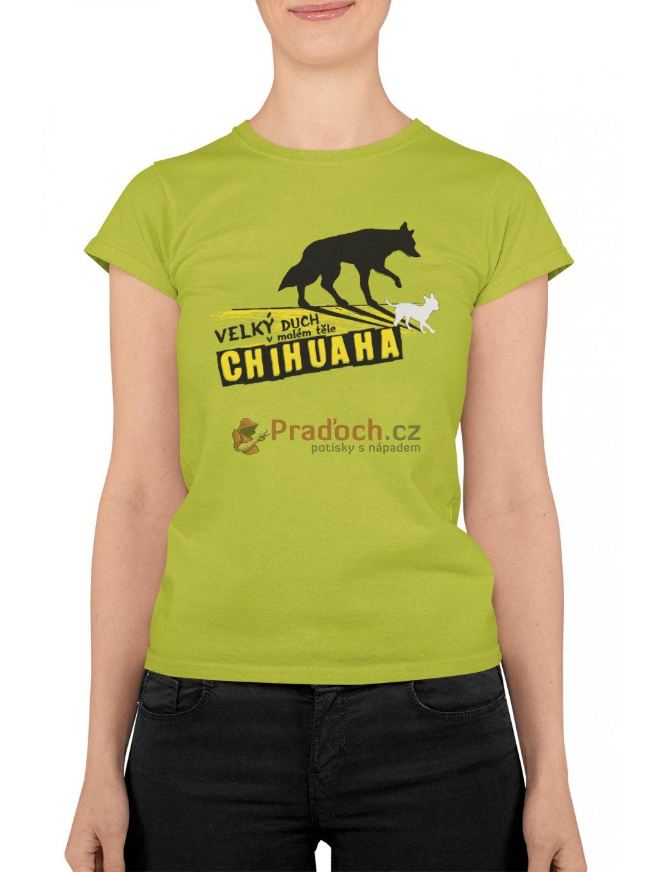 chichuaha zelene triko min