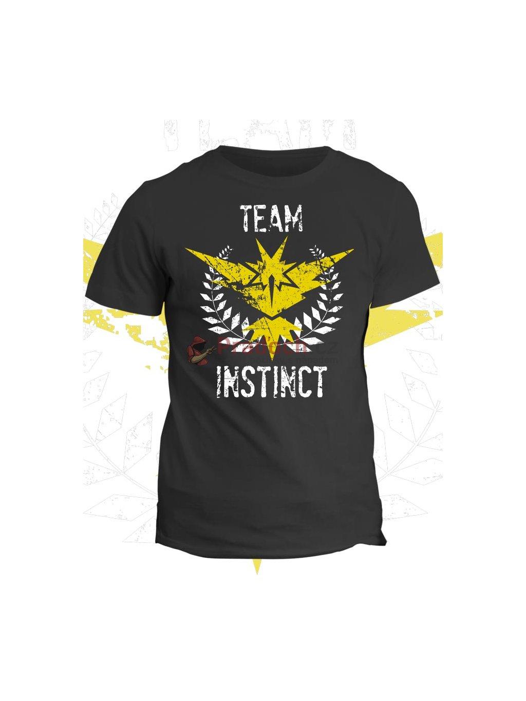 Pokémon tričko Team Instinct (pánské, černé, S) - KR1