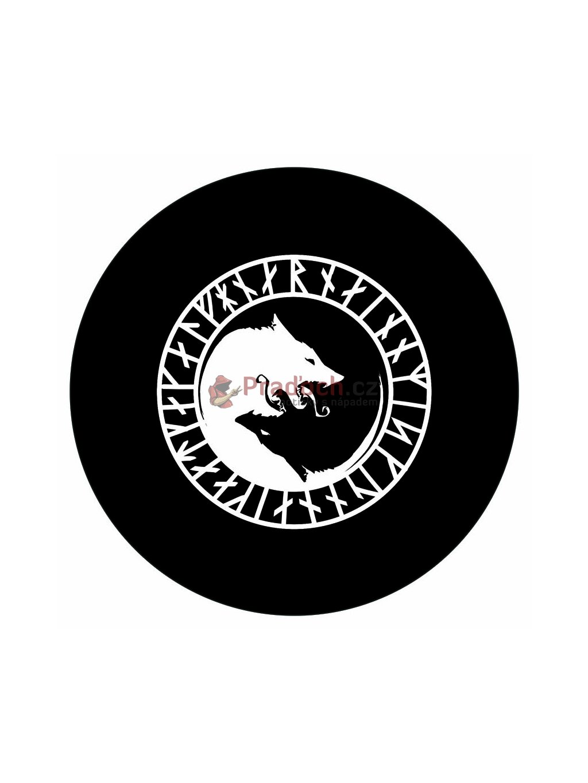 Samolepka Vikings Wolf