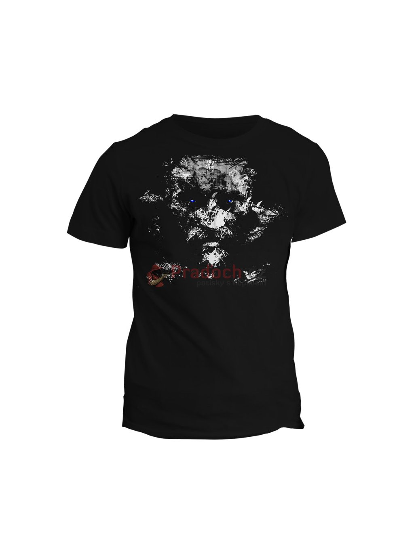 Tričko Vikingové - Ragnar Lothbrok (pánské, černé, S) - KR1