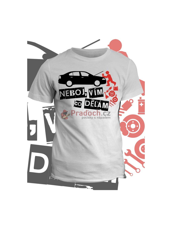 Profesní tričko Automechanik (pánské, černé, XL) - KR1