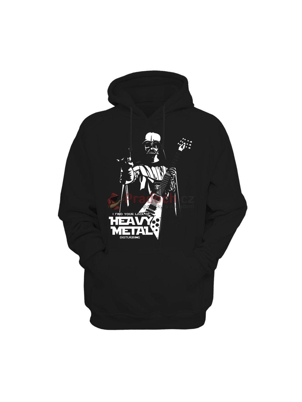 Mikina Star Wars Darth Metal (dámská, černá, S) - KR1
