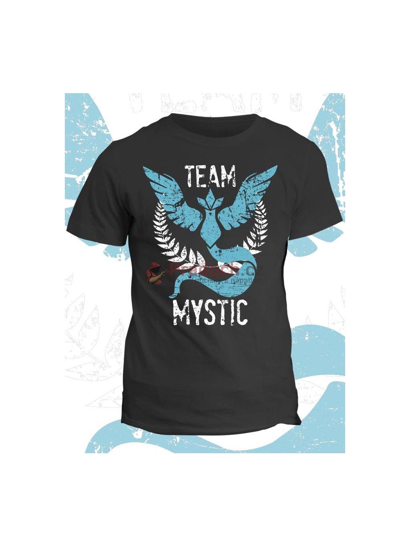 Pokémon tričko Team Mystic (pánské, černé, M) - KR2