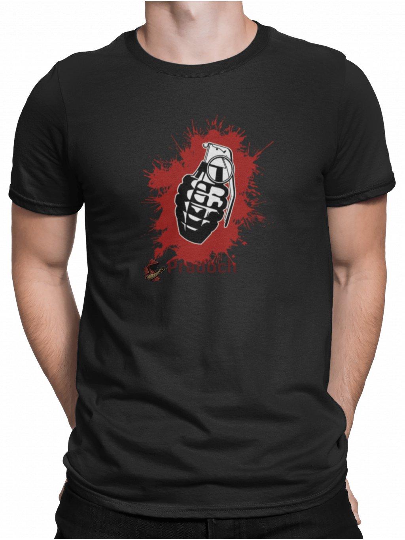 granat cerne triko