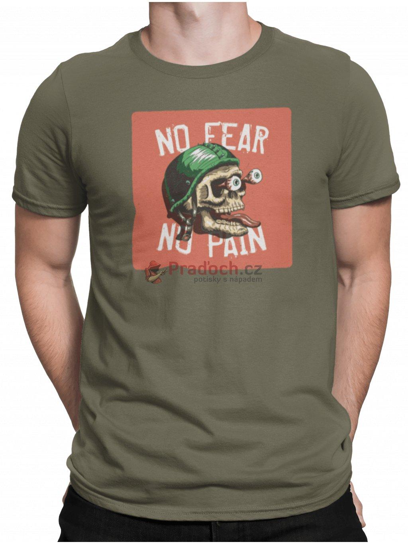 no fear zelene triko