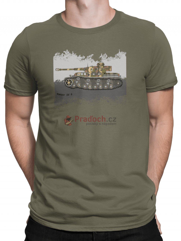 Panzer 4G zelene triko