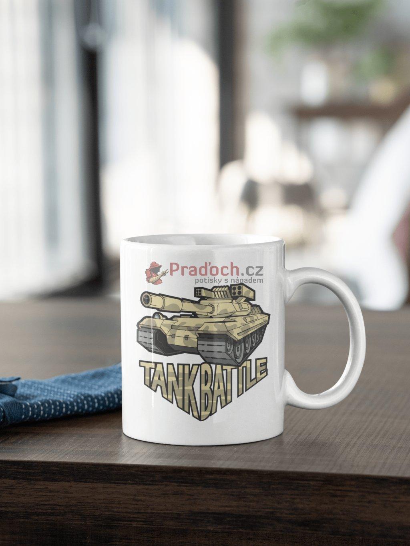 battle tank hrnek min
