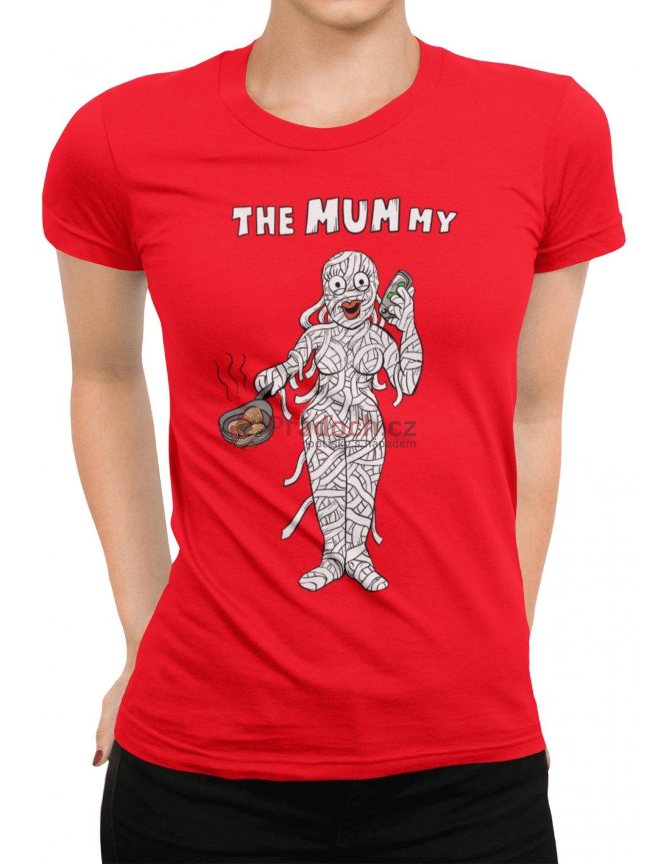 the mummy cervene tricko damske min