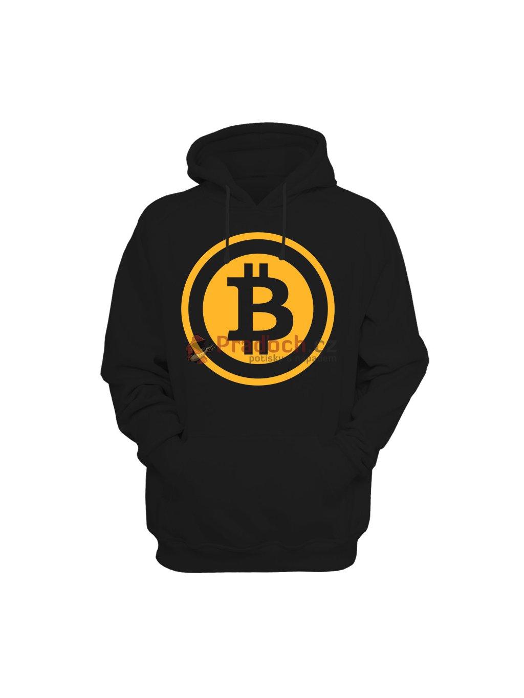 Mikina Bitcoin Gold Logo