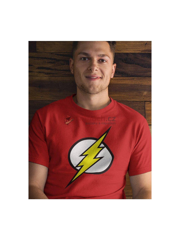 Tričko Flash logo