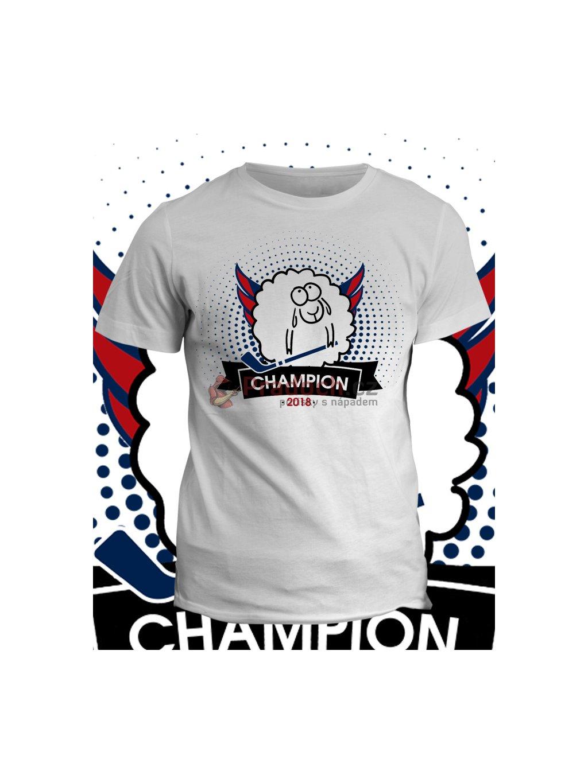 Tričko s potiskem Ovechkin Champion