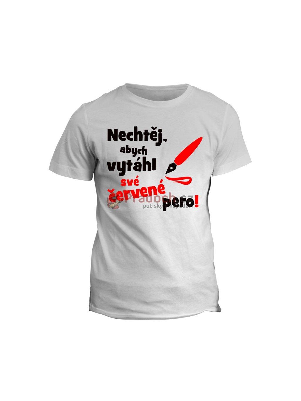 Profesní tričko Učitel