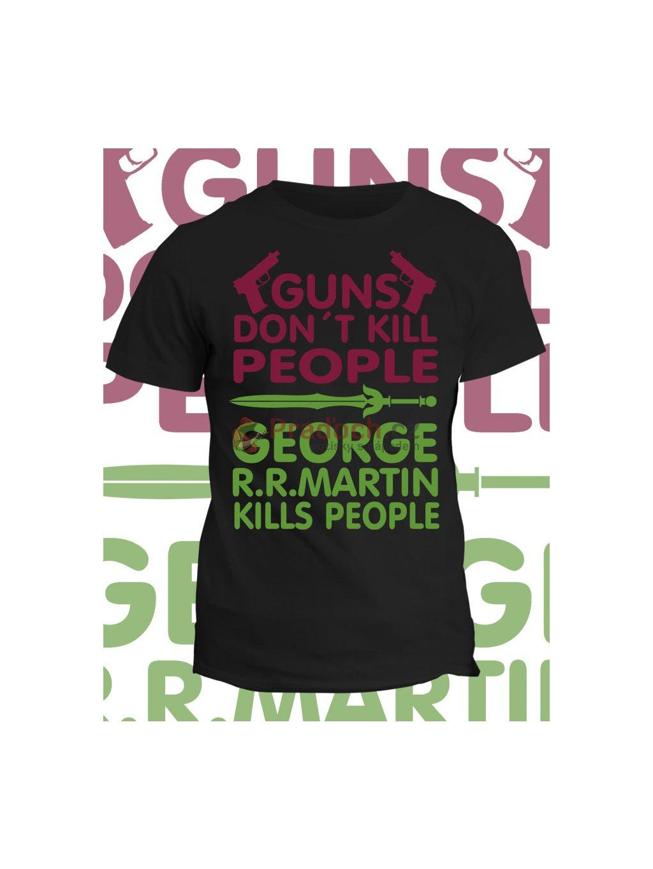 Tričko Game of Thrones - Guns dont kill people
