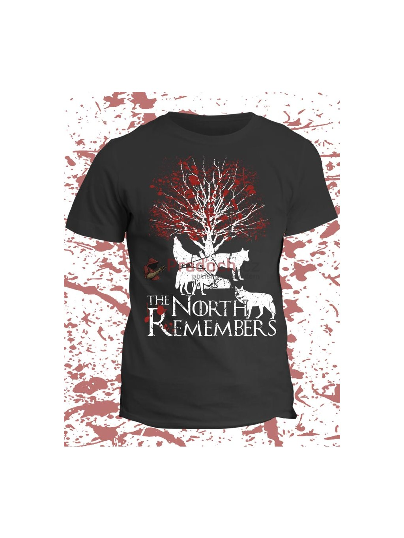 Tričko Game of Thrones - North remembers