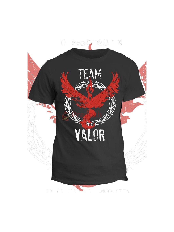 Pokémon tričko Team Valor - Pradoch.cz ddde53153e