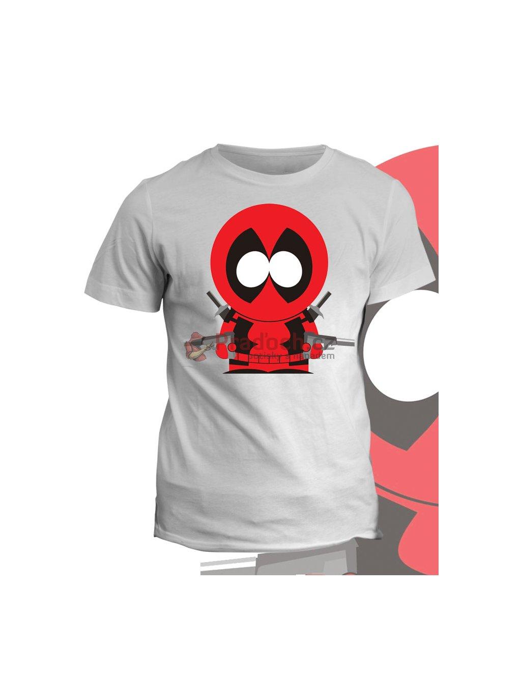 Tričko s potiskem South Park Deadpool