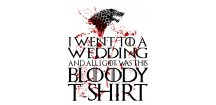 Tričko game of thrones Bloody wedding