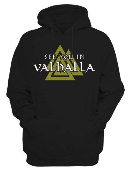 Pánská mikina Vikings See you in Valhalla