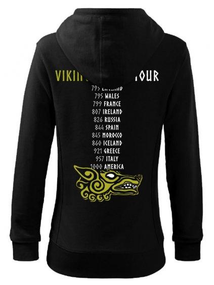 Dámská mikina Vikings World Tour