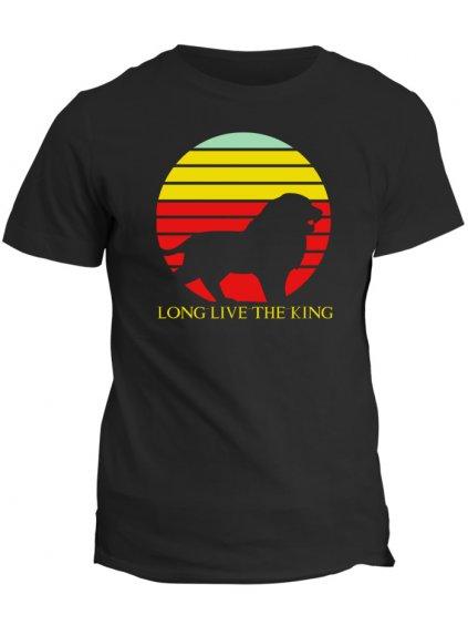 Tričko Lví král long live the king