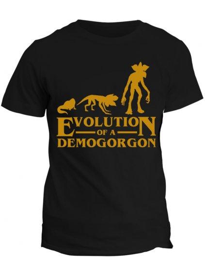 Tričko Stranger Things Evolution of Demogorgon