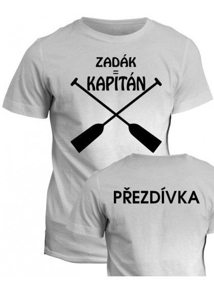 Vodácké tričko Zadák = kapitán