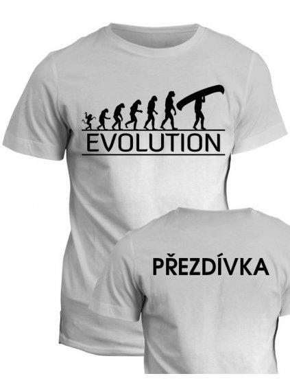 vodacke tricko evolution