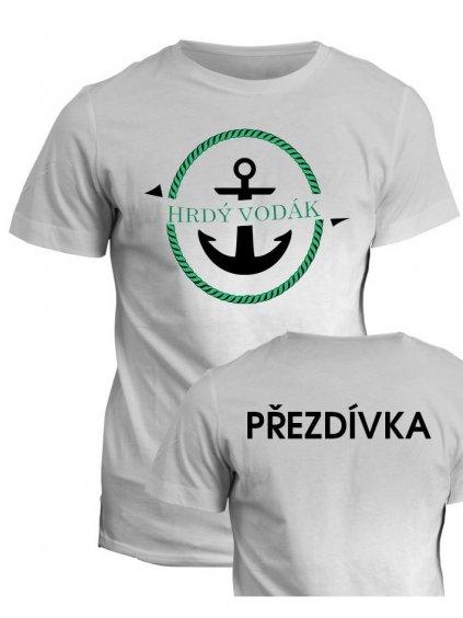 Vodácké tričko Hrdý vodák (1)