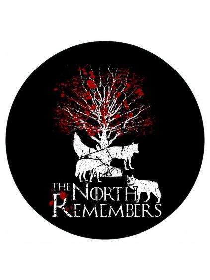 Samolepka GOT North remembers