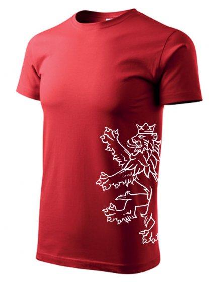 Tričko s potiskem Lev