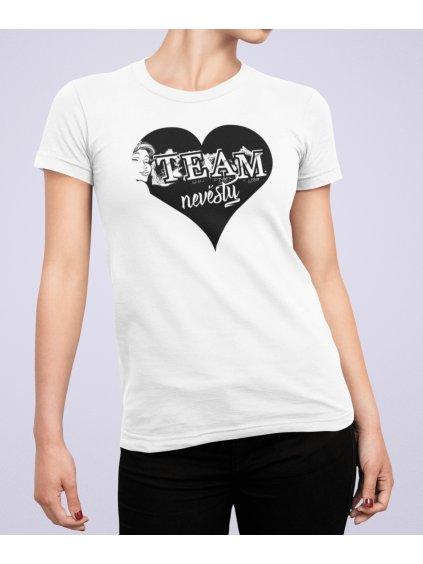 team nevesty heart shirt min