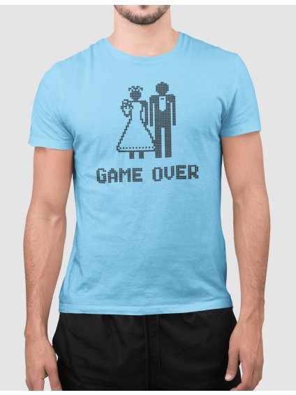 game over pixel min