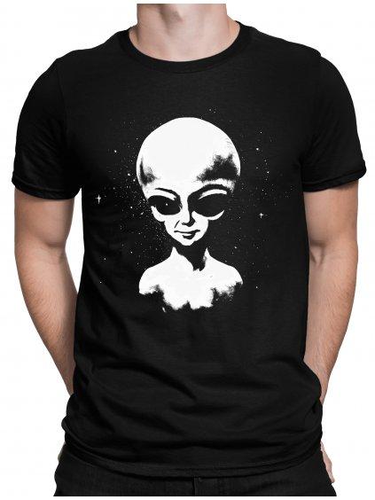 Svítící Tričko s potiskem Alien