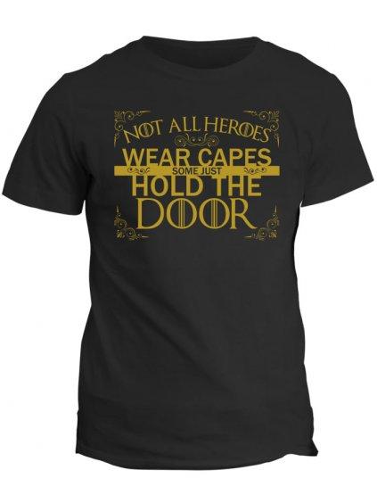 Tričko Game of Thrones - Hold the door