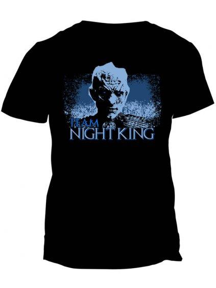 Tričko Game of Thrones - Team Night King