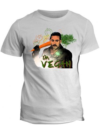 Tričko The Walking Dead - Im Vegan