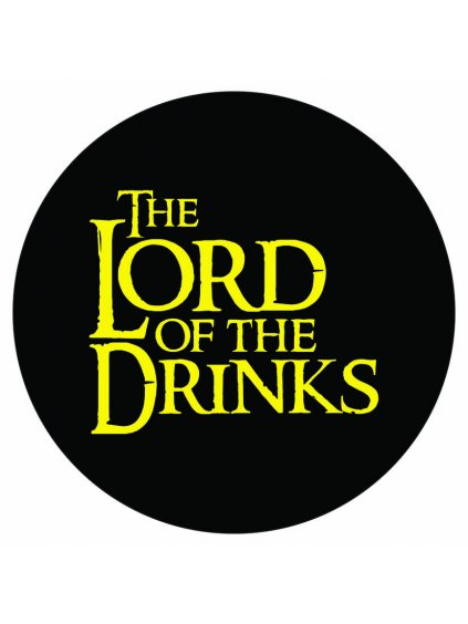 Samolepka Lord of the drinks
