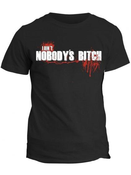 Tričko The Walking Dead - I ain´t nobodys bitch (pánské, černé, M) - KR1