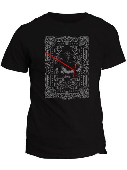 Tričko s potiskem Star Wars Kylo Ren