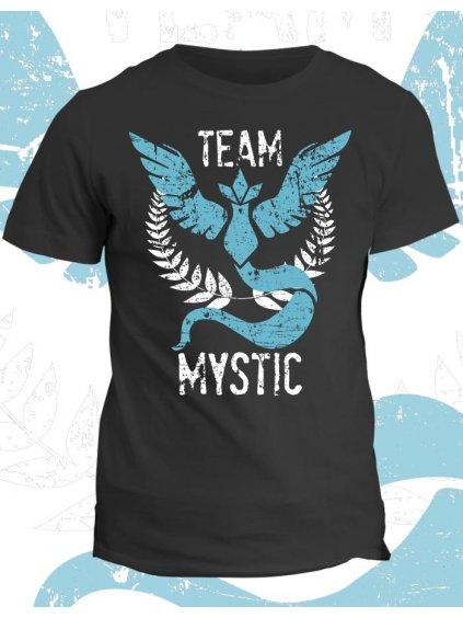 Pokémon tričko Team Mystic (pánské, černé, XS) - KR2