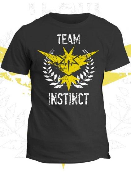 Pokémon tričko Team Instinct (dámské, černé, XS) - KR2