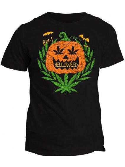 Tričko s potiskem Helloweed
