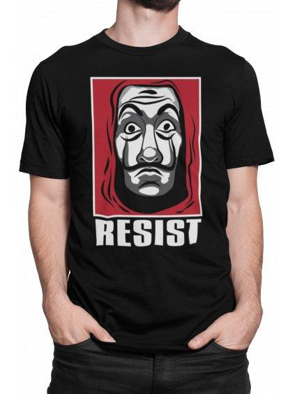resist cerne triko