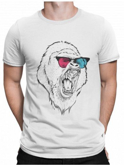 Gorila bile triko mockup