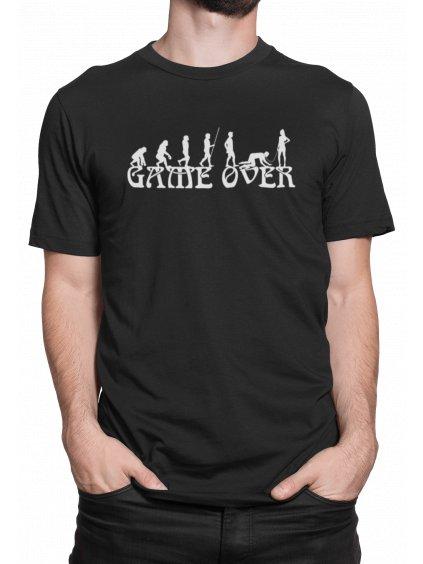 Game over evolution cerne triko