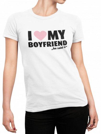 i love my boyfriend he said bile triko min