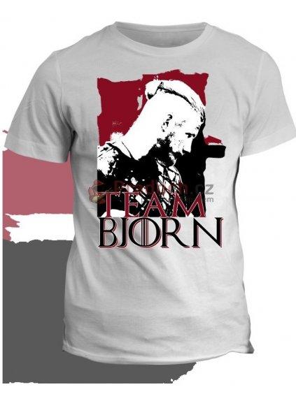 Tričko Vikingové - Team Bjorn (pánské, šedé, XL) - KR3