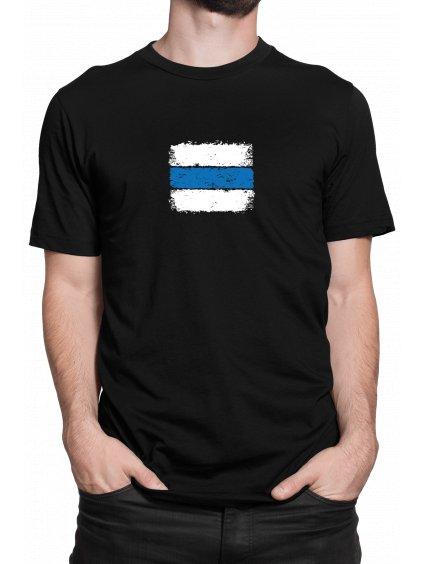 znacka modra cerne triko min
